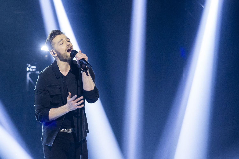 "Lietuvai ""Eurovizijoje"" atstovaus J. Veklenko"