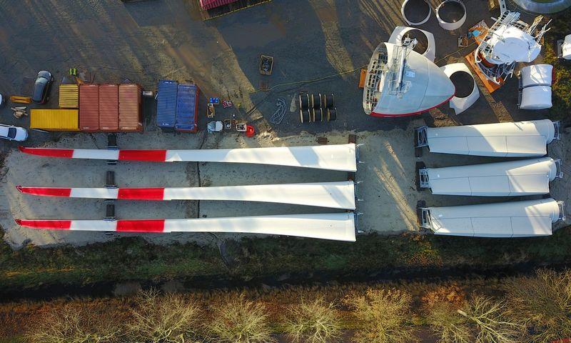 Vėjo jėgainės. Aivaro Stumbro (INIKTI wind) nuotr.