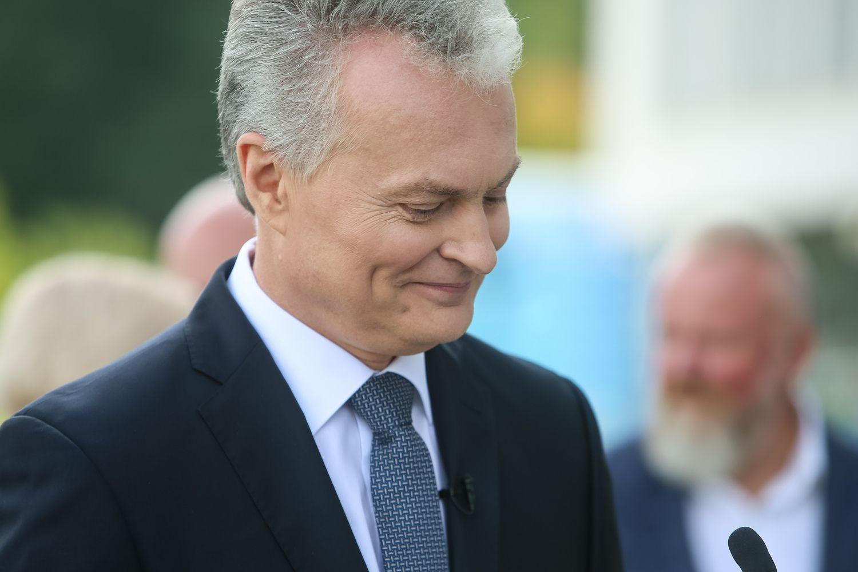 Tarp kanidatų į prezidentus populiariausias išlieka G. Nausėda