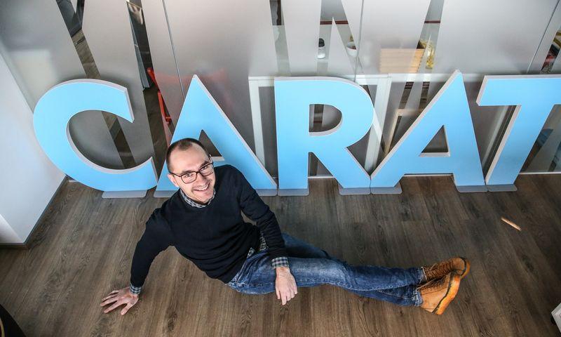 """Daivaras Ulinskas, žiniasklaidos planavimo agentūros """"Carat"""" projektų direktorius, """"Password 2019"""" komisijos narys. Vladimiro Ivanovo (VŽ) nuotr."""