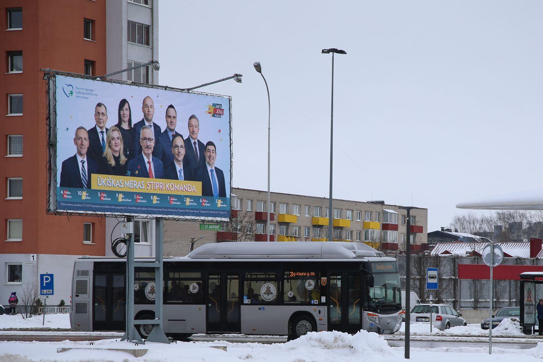 Politikų reklamos – geidžiamos, bet rezultatai nežavi