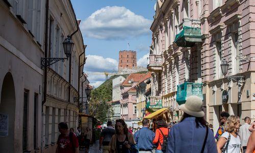 Vilniuje per metus apsilankė 970.000 užsienio turistų, daugiausiai sulaukta baltarusių