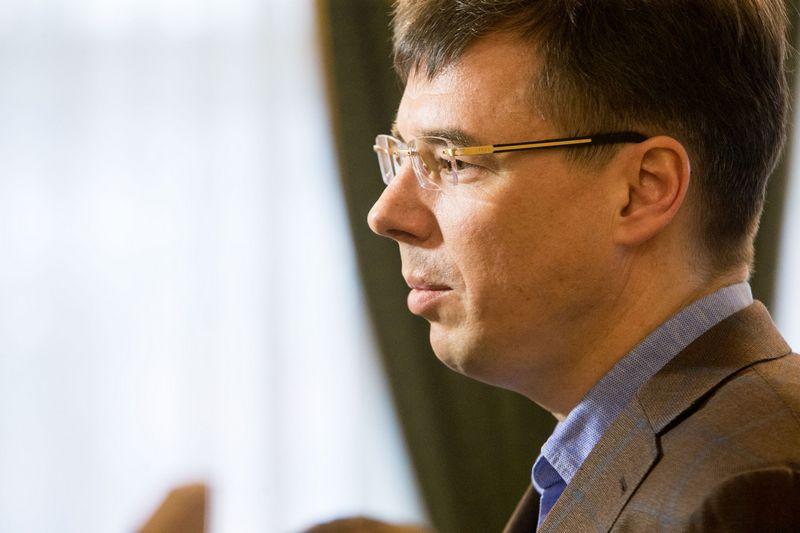 """Darius Nedzinskas, UAB """"Trastas"""" akcininkas. Juditos Grigelytės (VŽ) nuotr."""
