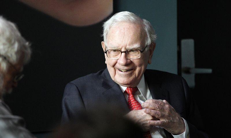 "Legendinis investuotojas Warrenas Buffettas. Nati Harnik (""Reuters"" / ""Scanpix"") nuotr."