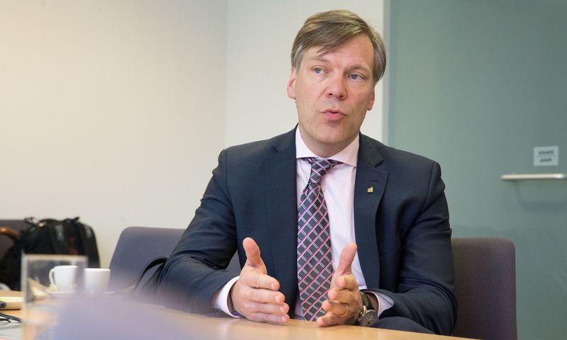 Linas Dičpetris, EY verslo konsultacijų padalinio Baltijos šalyse vadovas. Juditos Grigelytės (VŽ) nuotr.