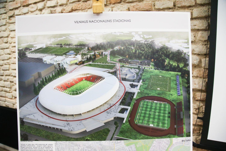 S. Skvernelis: jei stadiono statyba vyks sklandžiai, jis gaus ES finansavimą