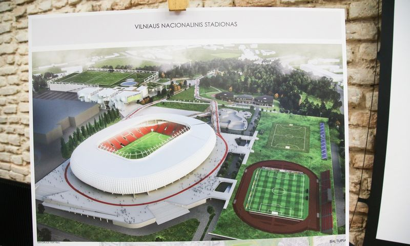 Vilniaus nacionalinio stadiono pristatymas. Vladimiro Ivanovo (VŽ) nuotr.