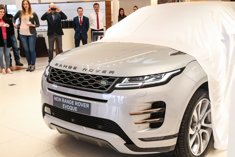 "Vilniuje – išankstinė ""Range Rover Evoque"" premjera"