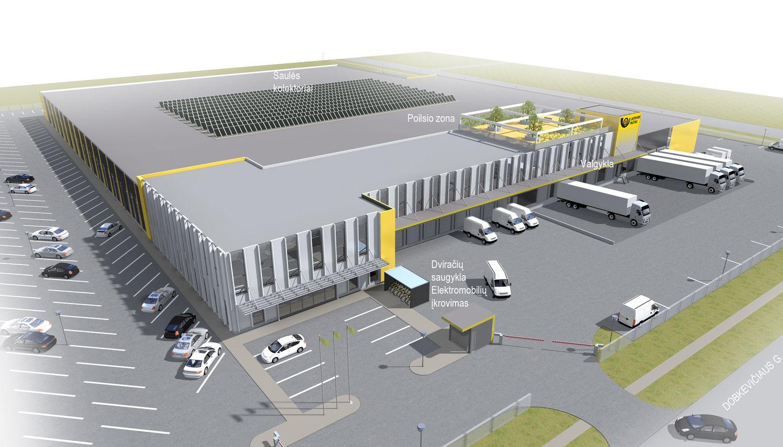 """""""Conresta"""" gavo užsakymą statyti Lietuvos pašto logistikos centrą"""