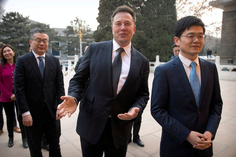 "Elonas Muskas, ""Tesla"" vykdomasis direktorius. Mark Schiefelbein (""Reuters"" / ""Scanpix"") nuotr."