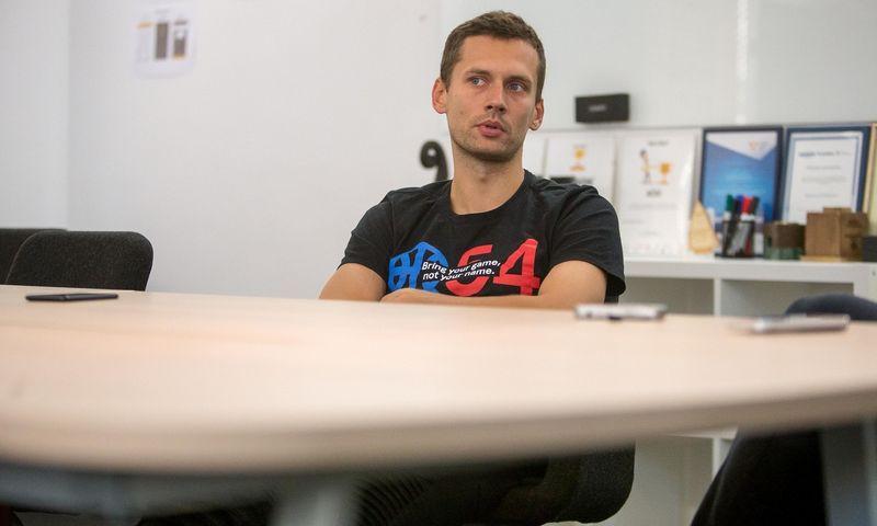 """Martynas Gudonavičius, mobilumo platformą valdančios bendrovės """"Trafi"""" vykdomasis direktorius. Vladimiro Ivanovo (VŽ) nuotr."""