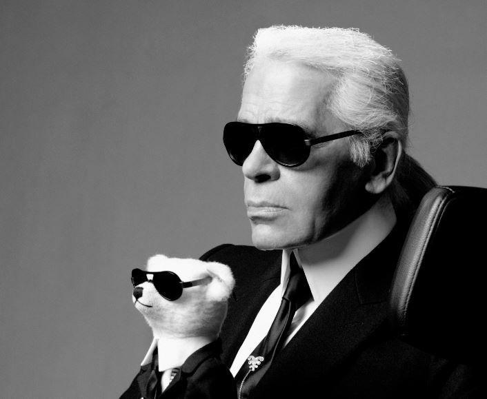 Mados kaizeris K. Lagerfeldas: treningas yra ženklas, kad žmogus pasidavė
