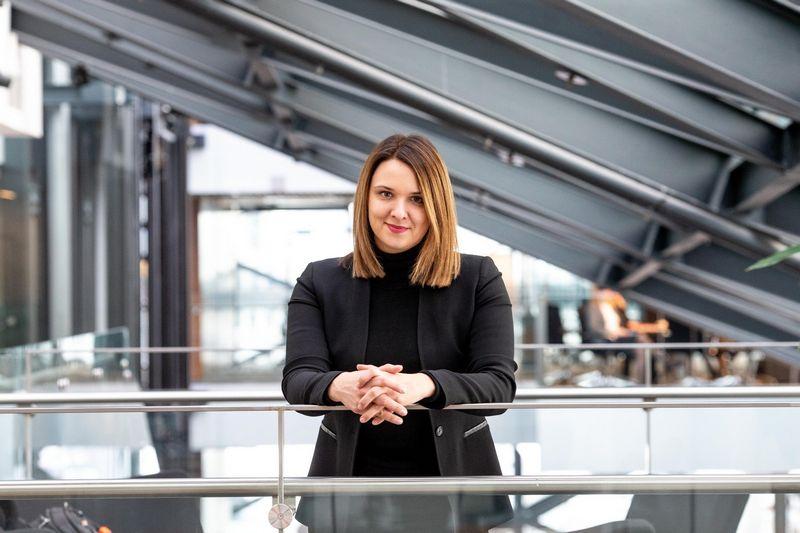"""Rengiant šį komentarą Laura Galdikienė ėjo """"Swedbank"""" vyresniosios ekonomistės pareigas, šiuo metu dirba Lietuvos banke. Vladimiro Ivanovo (VŽ) nuotr."""