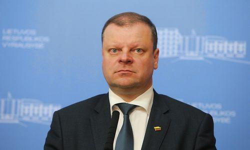 """S. Skvernelis apie """"Swedbank"""": grėsmių finansų stabilumui nematau"""