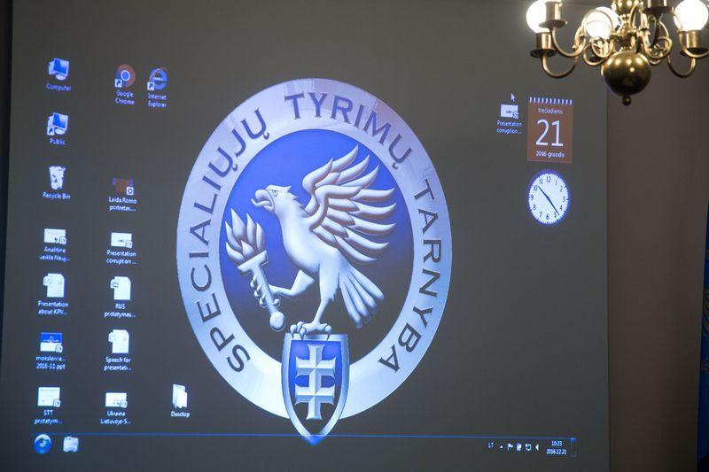 Specialiųjų tyrimų tarnyba (STT). Vladimiro Ivanovo (VŽ) nuotr.