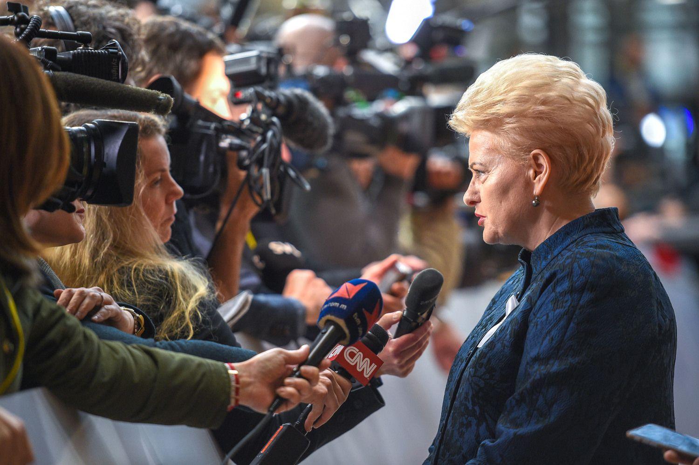 """Išleidžiama """"Valstybės paslaptis"""" – dokumentinis filmas apie D.Grybauskaitę"""