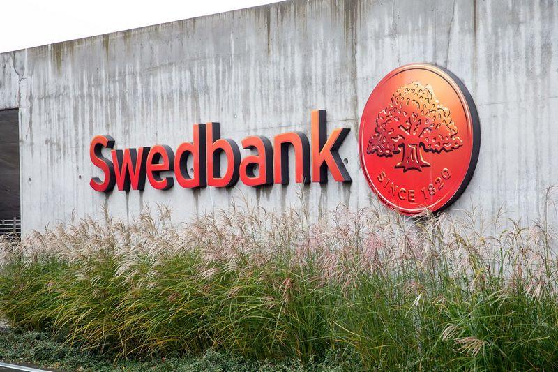 "Banko ""Swedbank"" logotipas. Vladimiro Ivanovo nuotr."