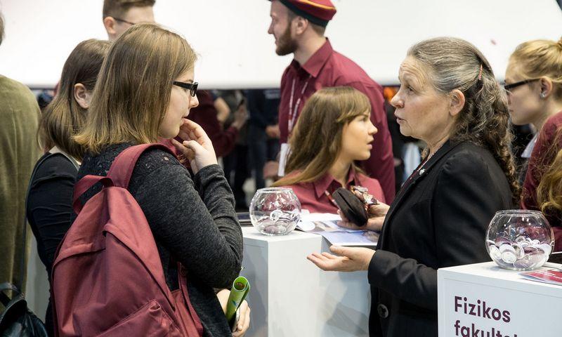 Lietuvos universitetai stiprina pozicijas pasauliniame reitinge.  Vladimiro Ivanovo nuotr.