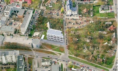 Su stambia Rusijos draudike susijusi įmonė Vilniuje planuoja daugiabutį