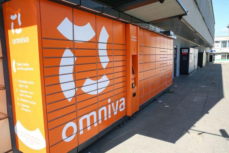 """""""Omniva"""" pernai padvigubino Lietuvoje esančių paštomatų tinklą. Vladimiro Ivanovo (VŽ) nuotr."""