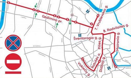 Dėl Kaziuko mugės Vilniuje ribojamas bus eismas