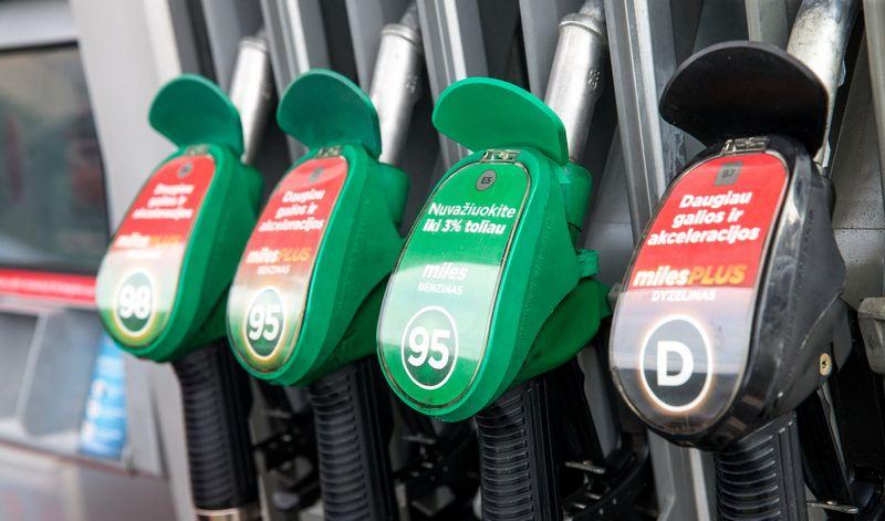 Degalų prekybininkų apyvarta per metus išaugo 10,9%.  Juditos Grigelytės (VŽ) nuotr.