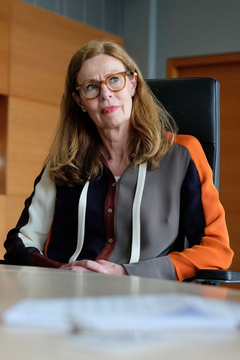 Birgitte Bonnesen, Švedijos Swedbank prezidentė ir valdybos pirmininkė. Vladimiro Ivanovo (VŽ) nuotr.