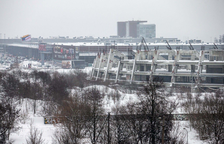 S. Skvernelis sutarė su R. Šimašiumi tęsti nacionalinio stadiono projektą