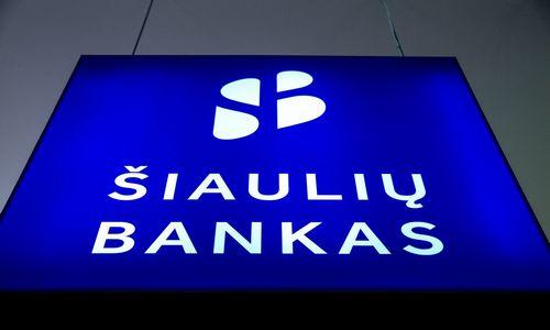 Šiaulių banko rezultatai: atkapsčius vienkartinius veiksnius