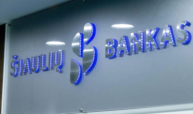 Šiaulių bankas pranoko lūkesčius, KJK žada toliau investuoti Baltijoje
