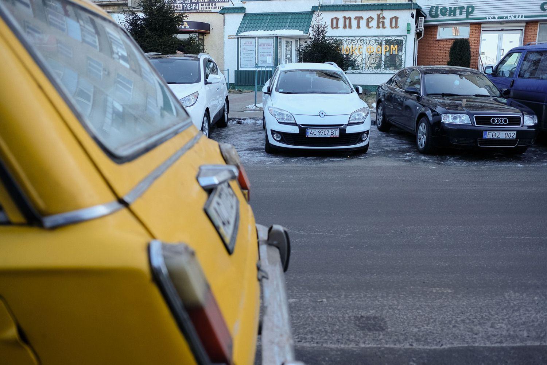 Ukraina kratosi ES registruotų automobilių