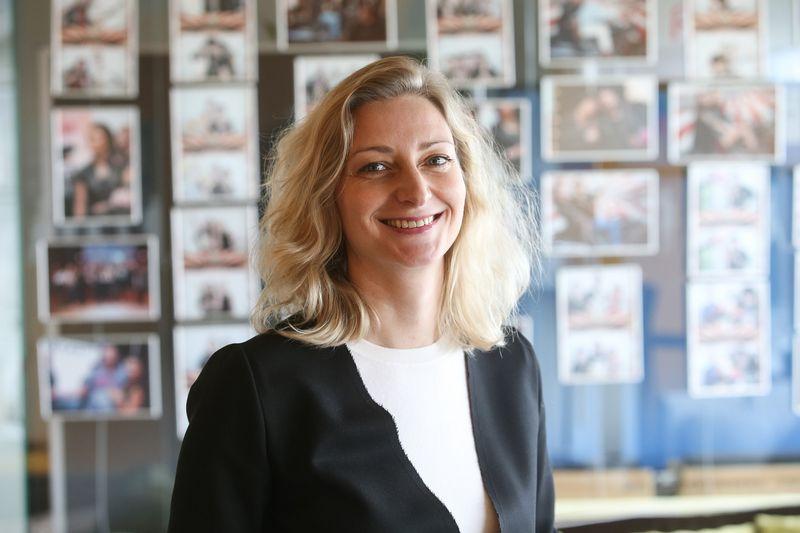 Olga Belova, SBA koncerno strateginės rinkodaros direktorė. Vladimiro Ivanovo (VŽ) nuotr.