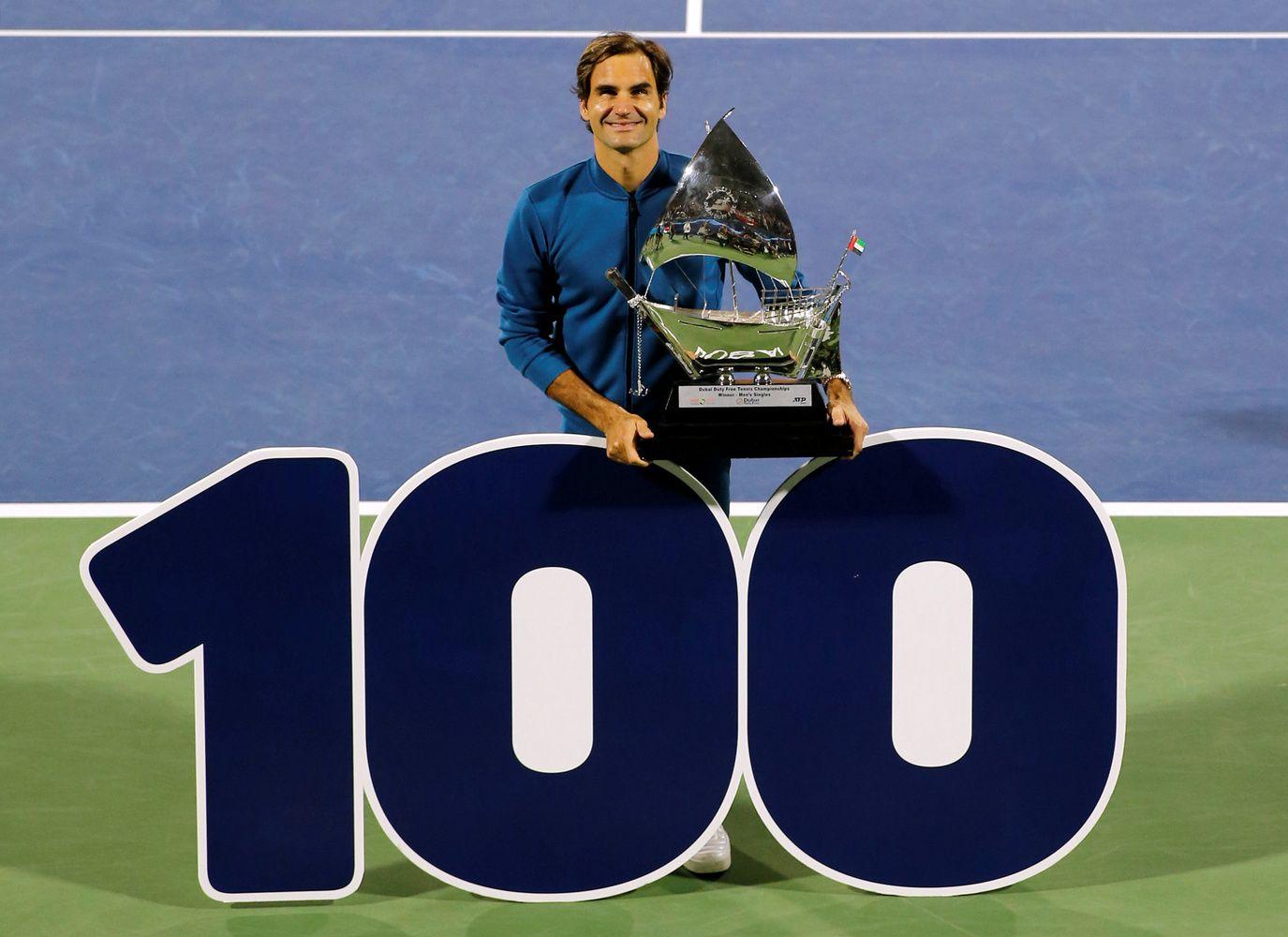 Antras istorijoje: R. Federeris pelnė 100-ąjį ATP titulą