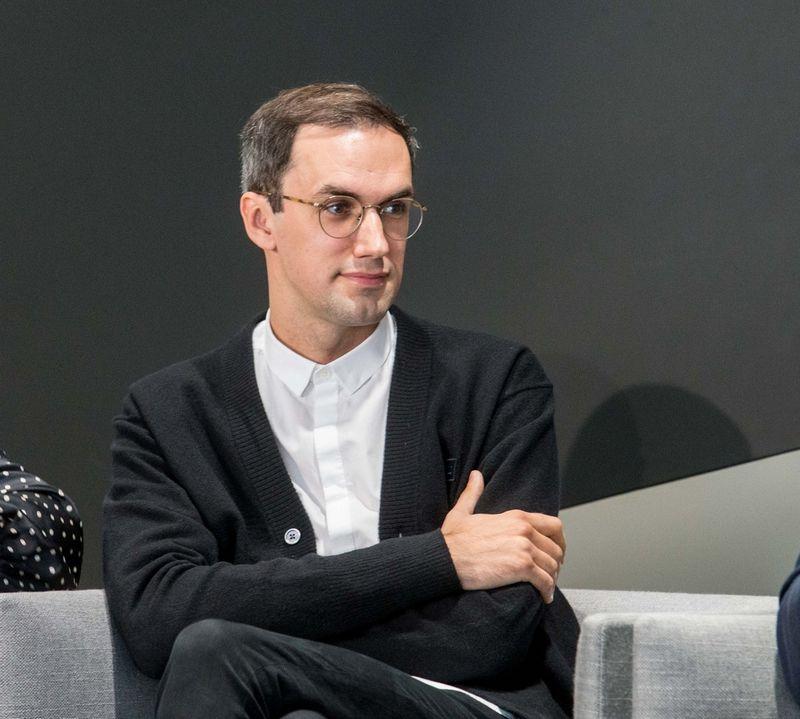 """Reklamos agentūros """"New!"""" kūrybos vadovas Tomas Ramanauskas. Juditos Grigelytės (VŽ) nuotr."""