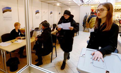 Estijos parlamento rinkimuose –euroskeptiškų nuotaikųšešėlis