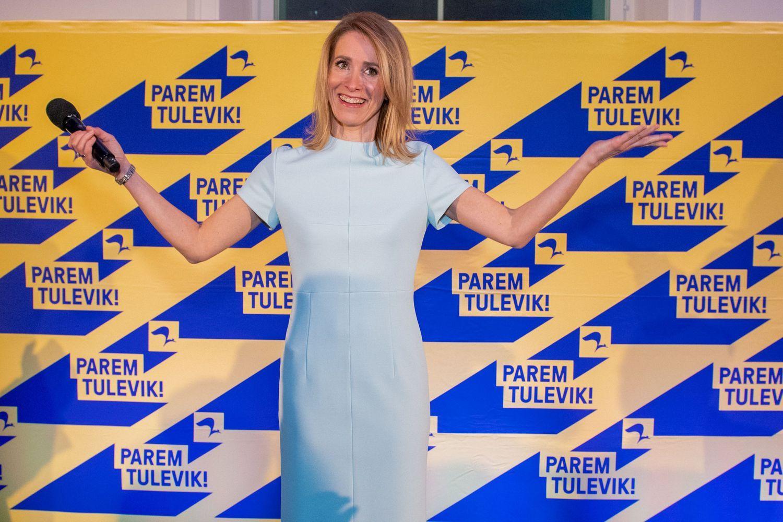 Estijoje parlamento rinkimus laimėjo Reformų partija, dėliojami koalicijos scenarijai