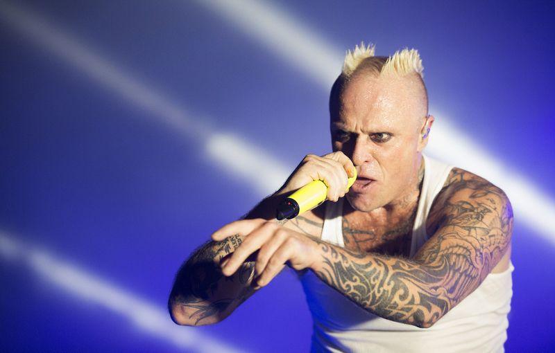 """Keithas Flintas ir """"The Prodigy"""" laikomi vienais iš elektroninės muzikos pionierių. Evgenijaus Filippovo (""""Scanpix"""") nuotr."""