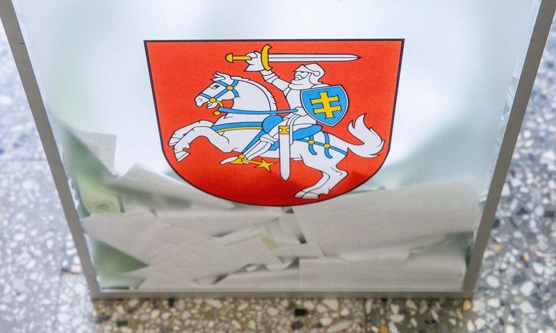 Savivaldybių merų ir tarybų rinkimai 2019 Pavilnionių rinkimų apylinkėje Vilniuje. Juditos Grigelytės (VŽ) nuotr.