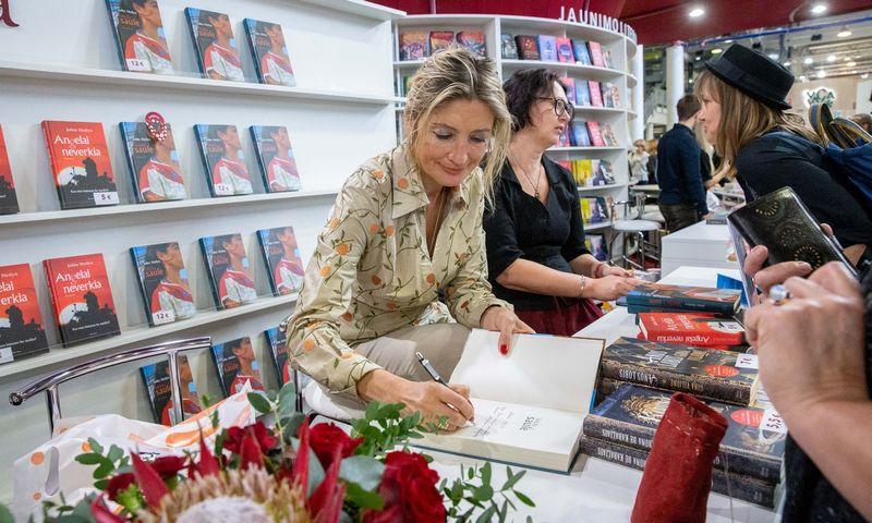 Lietuvoje 2017 m. išleista 3.410 pavadinimų knygų, tai yra apie 4,5 mln. egzempliorių. Juditos Grigelytės (VŽ) nuotr.