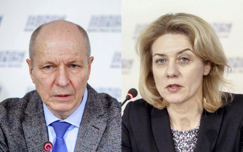 """Prof. Feliksas Jankevičius ir prof. Sonata Jarmalaitė. Josvydo Elinsko, Luko Balandžio (""""15min"""") nuotr."""