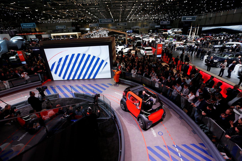 Ženevos automobilių parodos akcentas – elektra