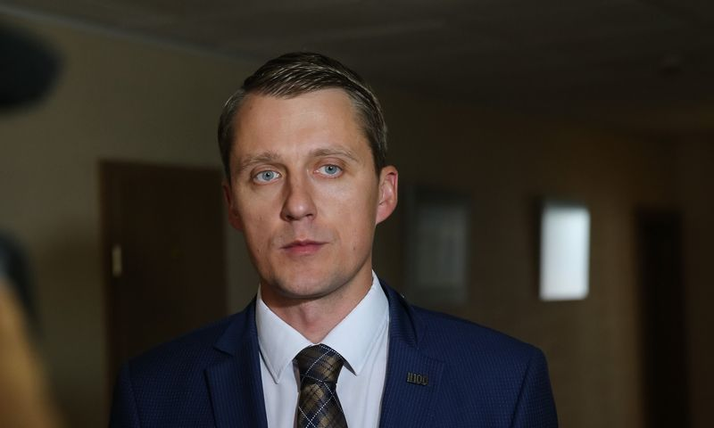 Žygimantas Vaičiūnas, energetikos ministras. Vladimiro Ivanovo (VŽ) nuotr.