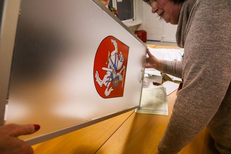 Savivaldybių merų ir tarybų rinkimai 2019, balsų skaičiavimas. Vladimiro Ivanovo (VŽ) nuotr.