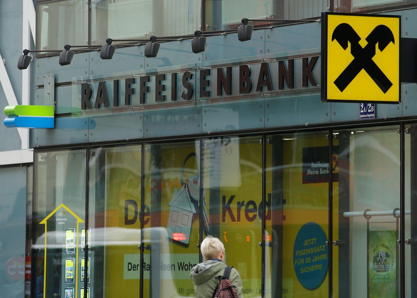 """Per Ūkio banką galbūt plauti pinigai pigina """"Raiffeisen"""" akcijas"""