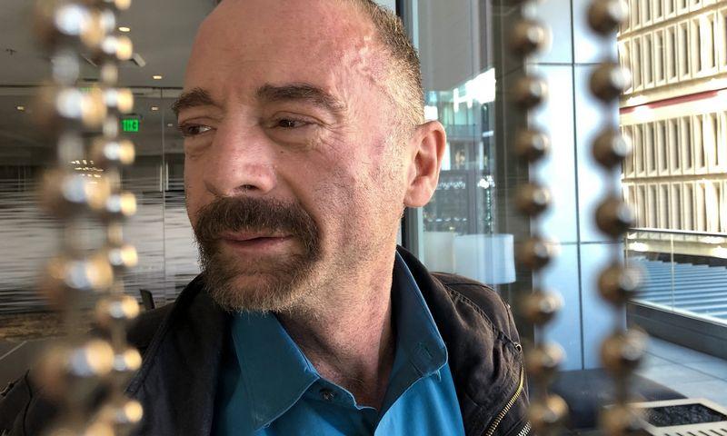 """Timothy Ray Brownas laikomas pirmuoju nuo ŽIV pasveikusiu pacientu. Manuelio Valdeso (""""AP Photo"""" / """"Scapinx"""") nuotr."""