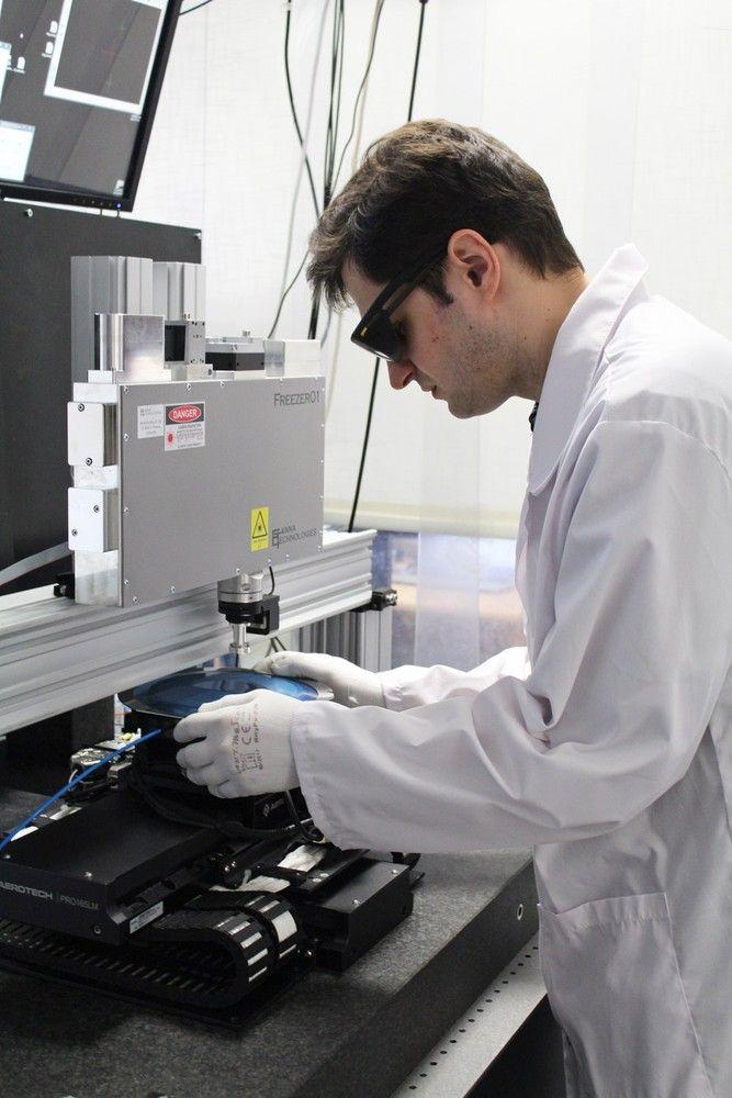 Lazerinių mikroapdirbimo technologijų įmonės– klasteryje TOOLAS