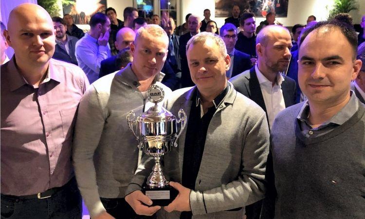 """Kasmetiniame DAF renginyje """"Sales Operation Meeting"""" UAB """"Centrakas"""" apdovanotas už """"Geriausius pardavimus 2018 metais""""– tai visos bendrovės komandos nuopelnas."""