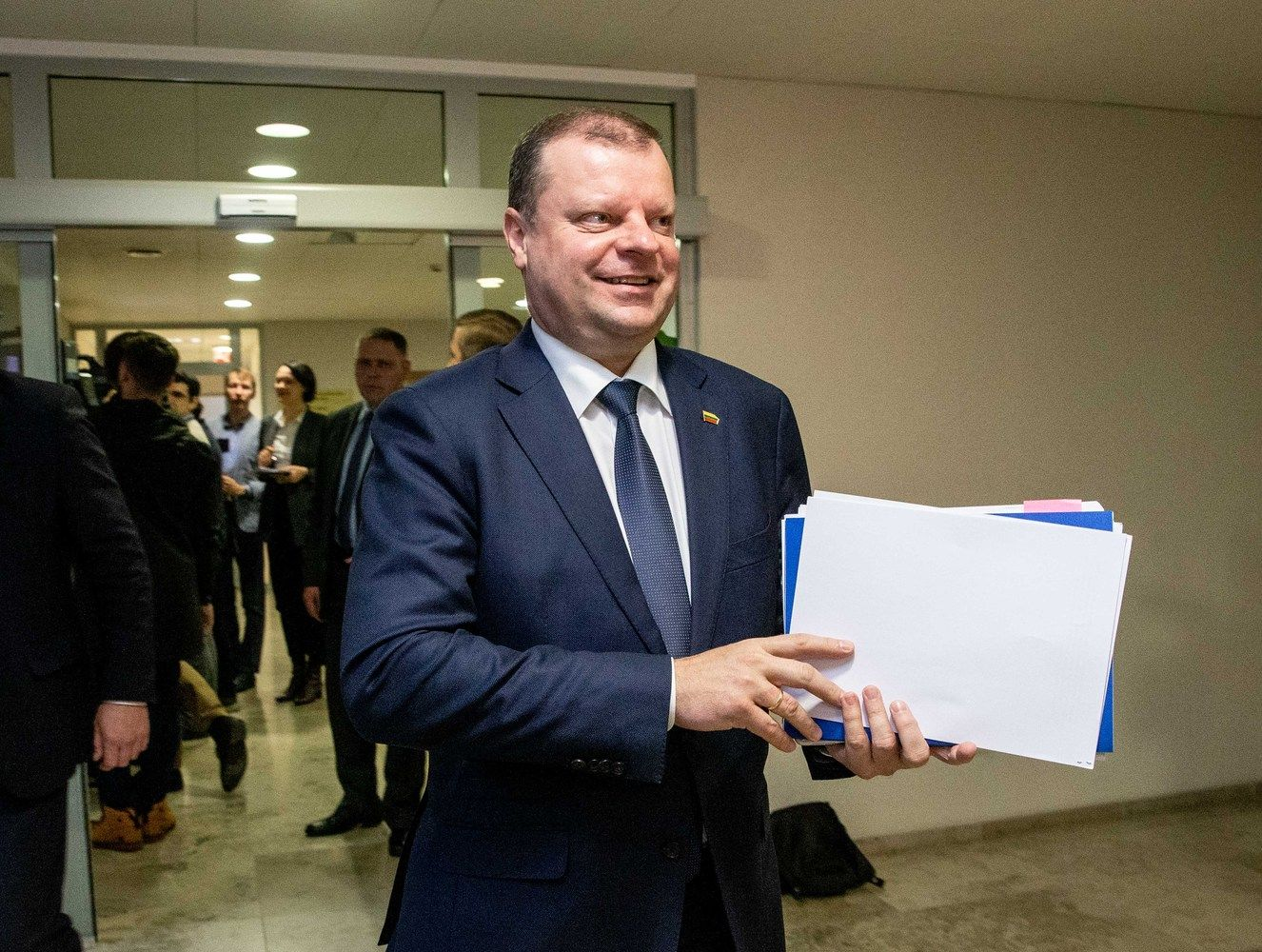 "S. Skvernelis rašo laišką Minskui su ""planu-chuliganu"""