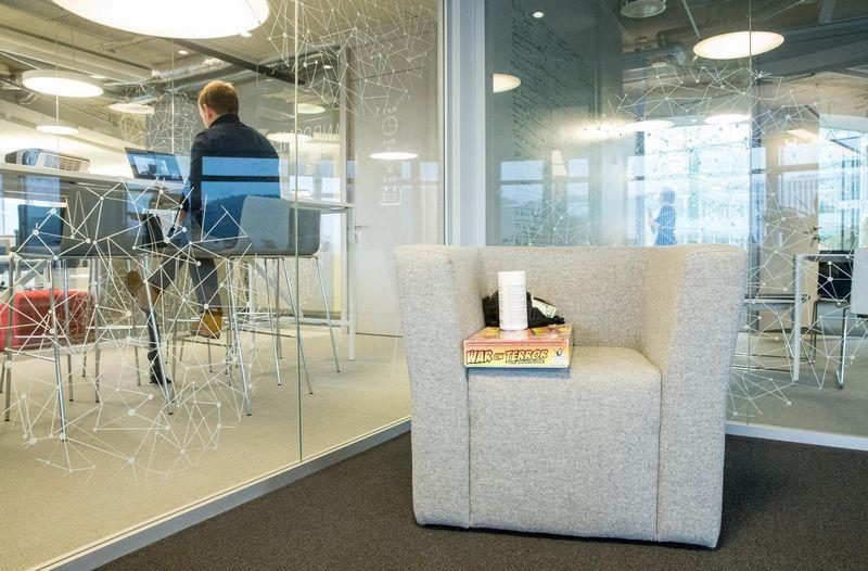 """2018 m. gruodis. """"Tia Technology"""" biuras Vilniuje. Juditos Grigelytės (VŽ) nuotr."""