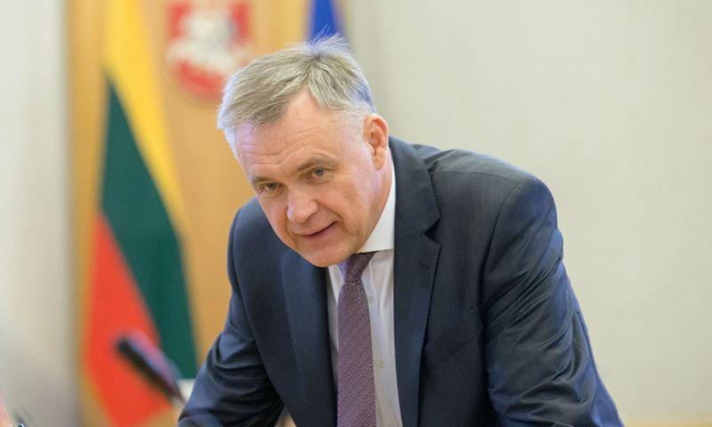 """Robertas Dargis, """"Eikos"""" akcininkas, valdybos pirmininkas. Juditos Grigelytės (VŽ) nuotr."""